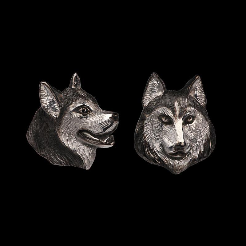 cufflinks husky1