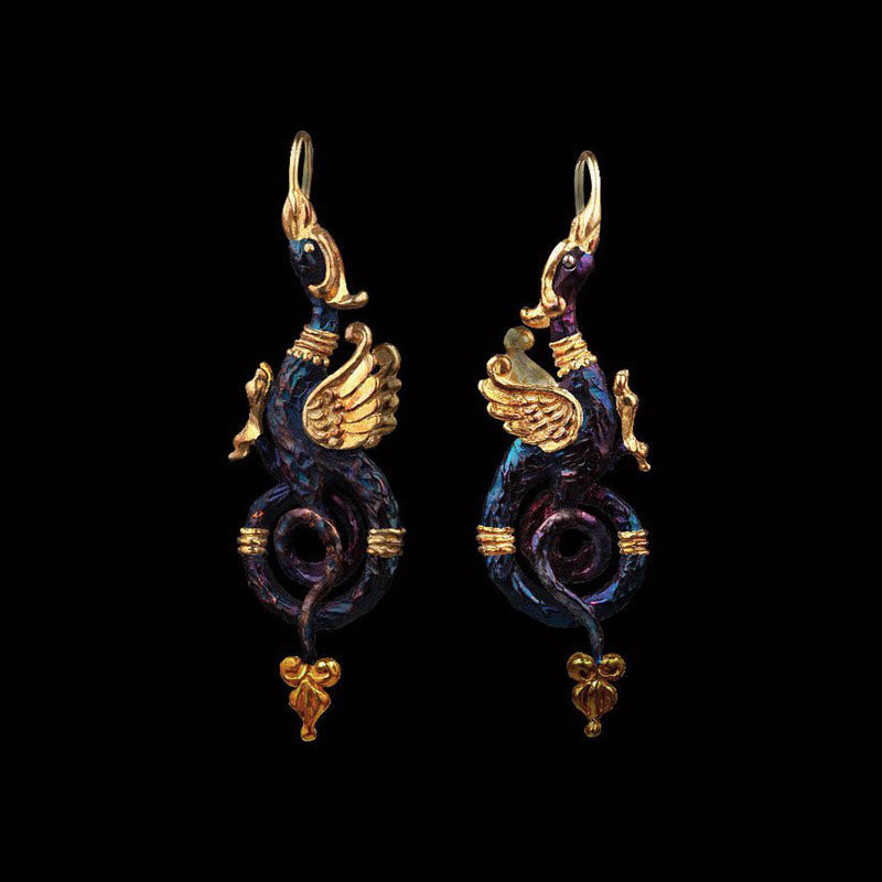 griffins earrings