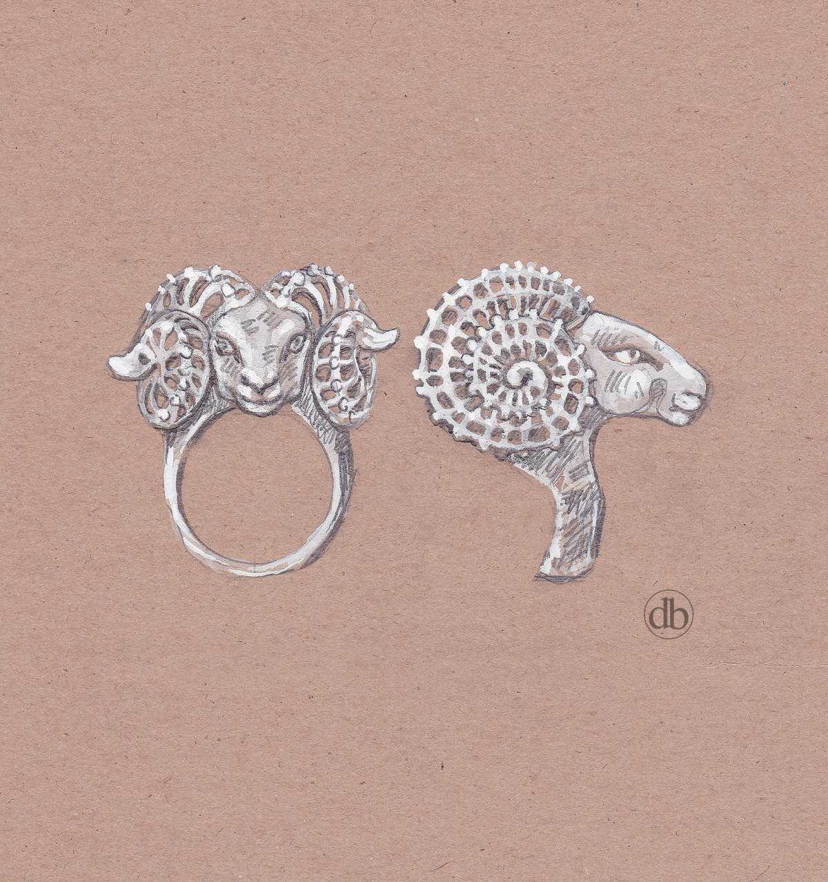 ram ring sketch